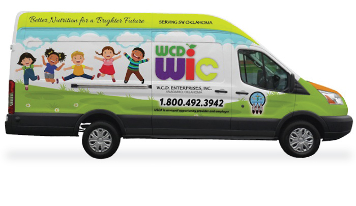 WCD-WIC Program mobile van